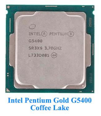 Intel Pentium Gold G5400 Coffee Lake